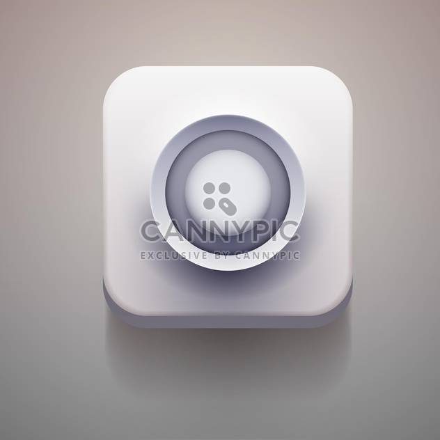 Media player vector icon - Free vector #131636