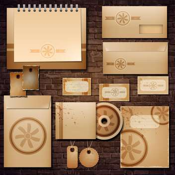 Selected corporate templates, vector Illustration - vector #132166 gratis