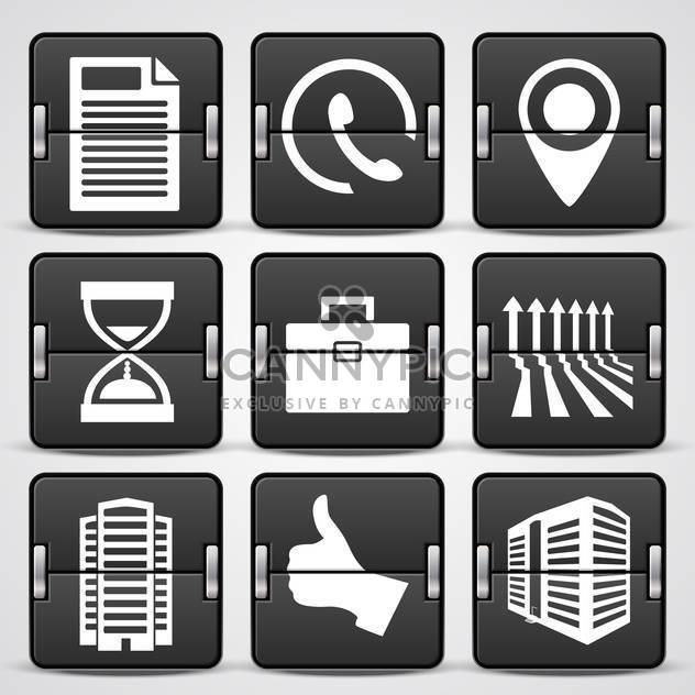 business web icons set - Free vector #132566