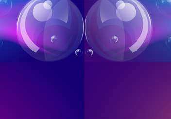 vector blue soap bubbles background - vector gratuit #133056