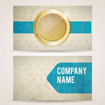 vintage label and company frame background - vector #133166 gratis