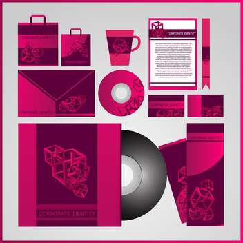business corporate templates background - vector gratuit #133326