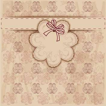 vintage frame vector background - vector #133686 gratis