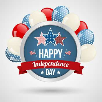 american independence day background - vector gratuit #134036