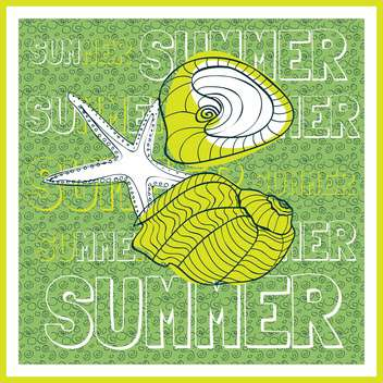 summer holiday vector background - vector gratuit #134096
