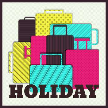 summer vacation holiday illustration - vector gratuit #134106