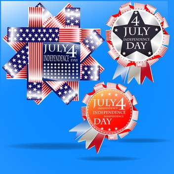 usa independence day illustration - vector #134146 gratis