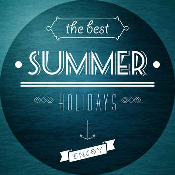 summer vacation holidays picture - vector gratuit #134316