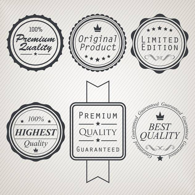 high quality sale labels and signs - бесплатный vector #134466