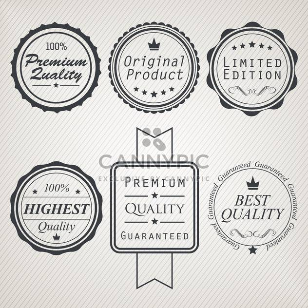 high quality sale labels and signs - Free vector #134466
